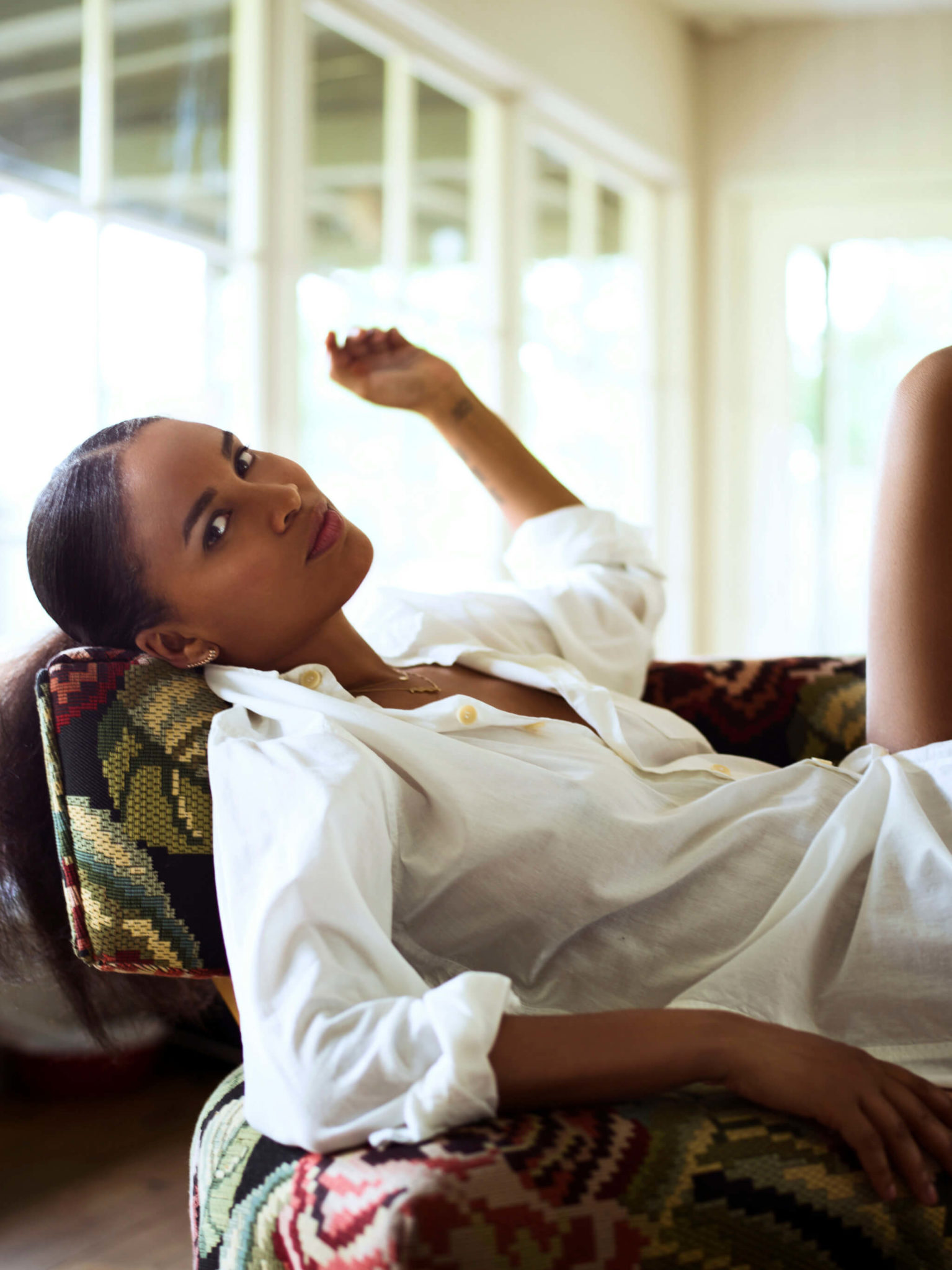 Joy Bryant actress Los angeles photopgraphed by Chris singer chrissinger